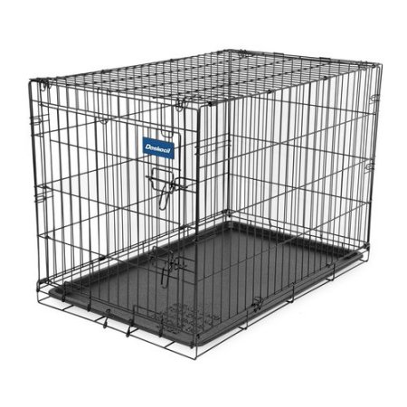 Doskocil Wire 36X22X35 Inches Folding Metal Crate Single Door Pet Travel Cage With Plastic Tray  sc 1 st  House Hold Sales & Doskocil Wire 36X22X35 Inches Folding Metal Crate Single Door Pet ...
