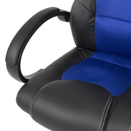 executive racing home office gaming computer chair pu leather swivel