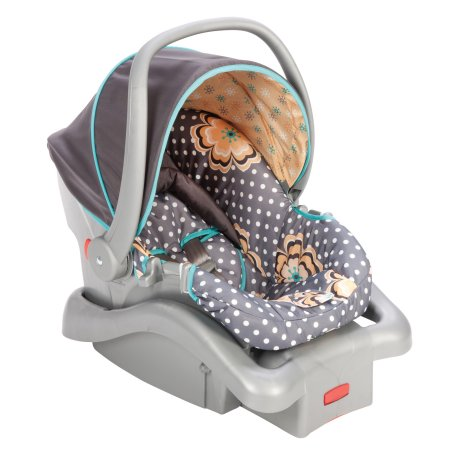 Safety 1st Light N Comfy Luxe Infant Baby Car Seat With Adjustable Harness Height Canopy Cover Head Support Safe And Comfortable LC185BEM New