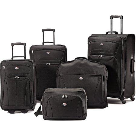 Travel Luggage Set Upright Garment Bag