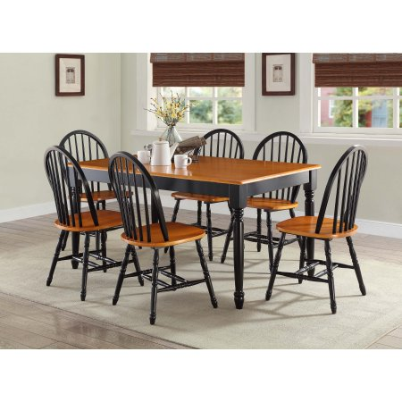 Traditional Style Dining Table 6 Seater Autumn Lane Farmhouse ...