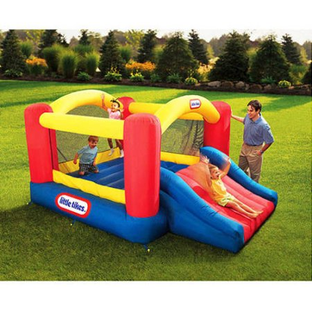 Little Tikes Jump N Slide Bounce Room For Kids Outdoor Party Inflatable Backyard  Jumping Activities Boys And Girls New